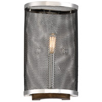 Savoy House 9-3094-1-73 Valcor 1 Light 8 inch Polished Nickel with Wood Accents Sconce Wall Light