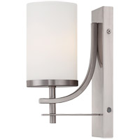 Colton 1 Light 5 inch Satin Nickel Sconce Wall Light