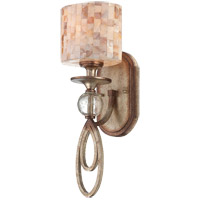 Savoy House Acacia 1 Light Wall Sconce in Oxidized Silver 9-3534-1-128