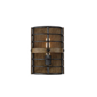 Savoy House 9-3923-1-120 Oakhill 1 Light 8 inch Provincial Wood with Ebony Wall Sconce Wall Light