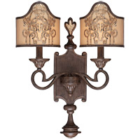 Savoy House Windsor 2 Light Sconce in Fiesta Bronze with Gold Highlights 9-3953-2-124 photo thumbnail