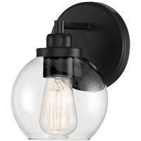 Savoy House 9-4050-1-BK Carson 1 Light 6 inch Matte Black Sconce Wall Light
