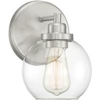 Savoy House 9-4050-1-SN Carson 1 Light 6 inch Satin Nickel Bath Light Wall Light