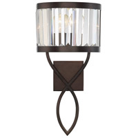 Savoy House 9-4062-1-28 Nora 1 Light 10 inch Oiled Burnished Bronze Sconce Wall Light
