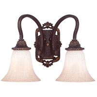 Savoy House Cordoba 2 Light Wall Sconce in Antique Copper 9-4094-2-16 photo thumbnail