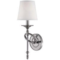 Foxcroft 1 Light 6 inch Brushed Pewter Sconce Wall Light