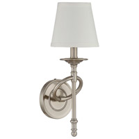 Savoy House 9-4156-1-187 Foxcroft 1 Light 6 inch Brushed Pewter Sconce Wall Light alternative photo thumbnail