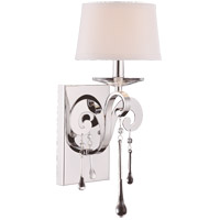 Niva 1 Light 7 inch Polished Chrome Sconce Wall Light