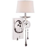 Savoy House 9-4246-1-11 Niva 1 Light 7 inch Polished Chrome Sconce Wall Light