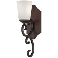Savoy House Nayah 1 Light Wall Sconce in Espresso 9-4372-1-129