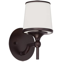 Savoy House 9-4383-1-13 Hagen 1 Light 6 inch English Bronze Bath Bar Wall Light photo thumbnail