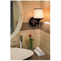 Savoy House 9-4383-1-13 Hagen 1 Light 6 inch English Bronze Bath Bar Wall Light alternative photo thumbnail
