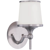 Hagen 1 Light 6 inch Satin Nickel Sconce Wall Light
