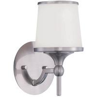 Savoy House 9-4383-1-SN Hagen 1 Light 6 inch Satin Nickel Sconce Wall Light