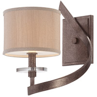 Savoy House Luzon 1 Light Wall Sconce in Antique Nickel 9-4433-1-285