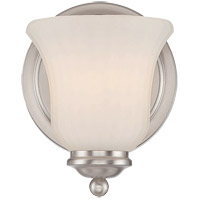 Savoy House Mercer 1 Light Vanity Light in Satin Nickel 9-470-1-SN