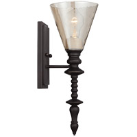 Savoy House Darian 1 Light Sconce in Oiled Bronze 9-4903-1-02