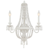 Geneva 2 Light 19 inch Porcellan Sconce Wall Light