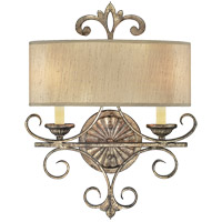 Savoy House Savonia 2 Light Wall Sconce in Oxidized Silver 9-511-2-128
