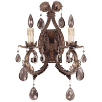 Savoy House 9-5317-2-8 Chastain 2 Light 14 inch New Tortoise Shell with Silver Sconce Wall Light photo thumbnail
