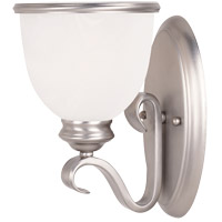 Savoy House 9-5780-1-69 Willoughby 1 Light 6 inch Pewter Sconce Wall Light in White Marble photo thumbnail