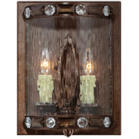 Savoy House Paragon 2 Light Sconce in Gilded Bronze 9-6033-2-131