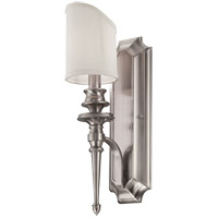 Savoy House Bishop 1 Light Wall Sconce in Brushed Pewter 9-6541-1-187