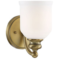 Savoy House 9-6836-1-322 Melrose 1 Light 5 inch Warm Brass Sconce Wall Light