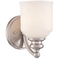 Savoy House Melrose 1 Light Vanity Light in Satin Nickel 9-6836-1-SN