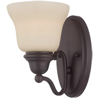 Savoy House Yates 1 Light Sconce in English Bronze 9-6837-1-13