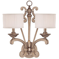 Savoy House Highcroft 2 Light Wall Sconce in Argentum 9-70066-2-211