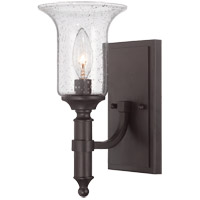 Savoy House 9-7134-1-13 Trudy 1 Light 5 inch English Bronze Sconce Wall Light in Seeded photo thumbnail