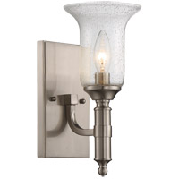 Trudy 1 Light 5 inch Satin Nickel Sconce Wall Light