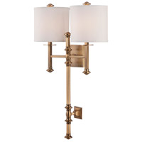 Savoy House 9-7141-2-322 Devon 2 Light 18 inch Warm Brass Sconce Wall Light alternative photo thumbnail