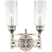 Savoy House Coronado 2 Light Sconce in Polished Nickel 9-7173-2-109