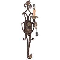 Savoy House Chinquapin 1 Light Wall Sconce in Moroccan Bronze 9-7186-1-241