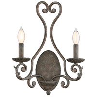 Bree 2 Light 14 inch Fieldstone Sconce Wall Light