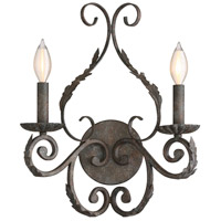 Blair 2 Light 13 inch Feildstone Sconce Wall Light