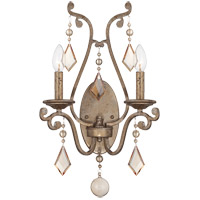 Rothchild 2 Light 14 inch Oxidized Silver Sconce Wall Light