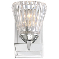 Dresden 1 Light 5 inch Chrome Sconce Wall Light
