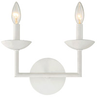 Piper 2 Light 12 inch Porcelena Sconce Wall Light