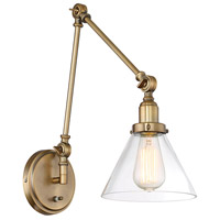 Savoy House 9-9131CP-1-322 Drake 17 inch 60 watt Warm Brass Adjustable Sconce Wall Light alternative photo thumbnail