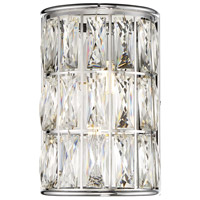 Citrine LED 8 inch Polished Chrome Sconce Wall Light