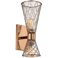 Savoy House Courtland 2 Light Sconce in Rose Gold 9-953-2-58
