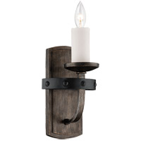 Alsace 1 Light 6 inch Reclaimed Wood Wall Sconce Wall Light