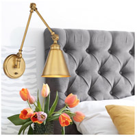 Savoy House 9-961CP-1-322 Morland 34 inch 60 watt Warm Brass Adjustable Sconce Wall Light alternative photo thumbnail