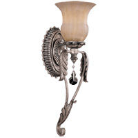 Savoy House Florita 1 Light Wall Sconce in Silver Lace 9-9732-1-176