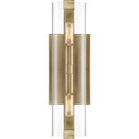 Savoy House 9-9771-2-322 Winfield 2 Light 5 inch Warm Brass Wall Sconce Wall Light