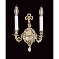 Savoy House European Transition Louis XVI / Empire 2 Light Wall Sconce in Antique Silver 92484-141 photo thumbnail