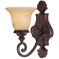 Knight 1 Light 7 inch Antique Copper Sconce Wall Light